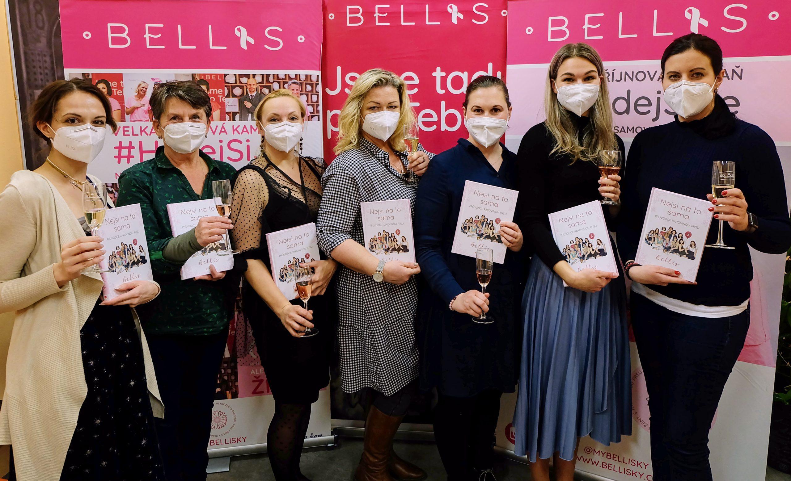 Online představení knihy Nejsi na to sama – Průvodce rakovinou prsu Bellis