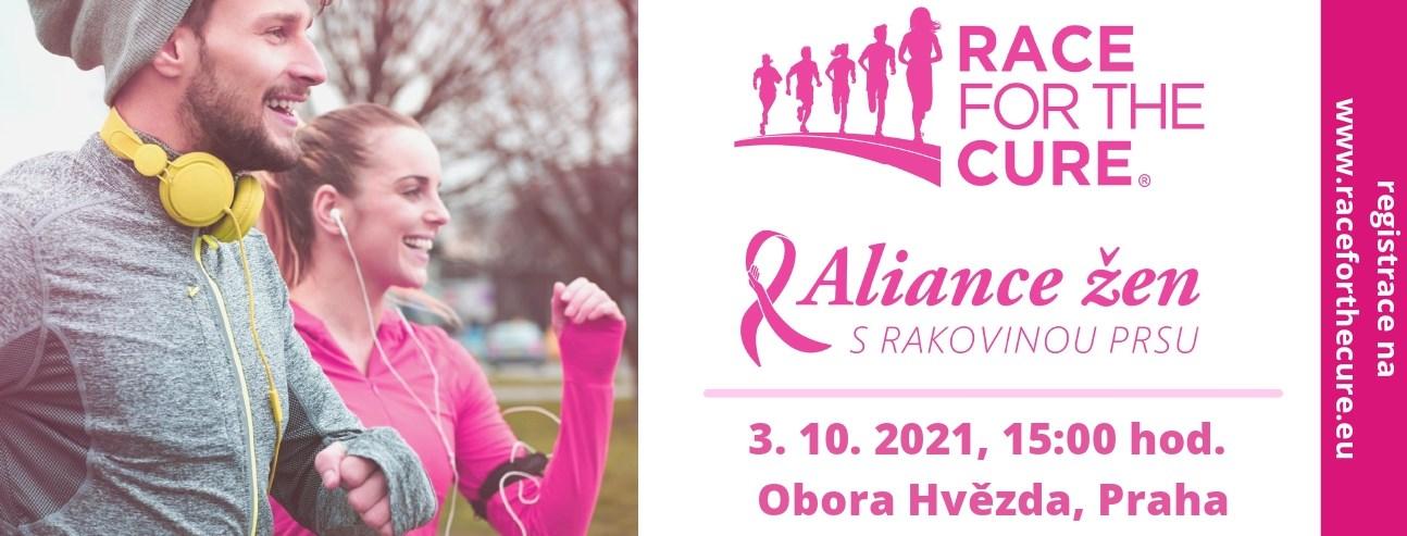 Běh a pochod za zdravá prsa Race for the Cure